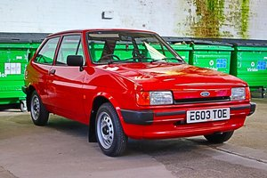 1987 Fiesta mk2 popular low miles show car