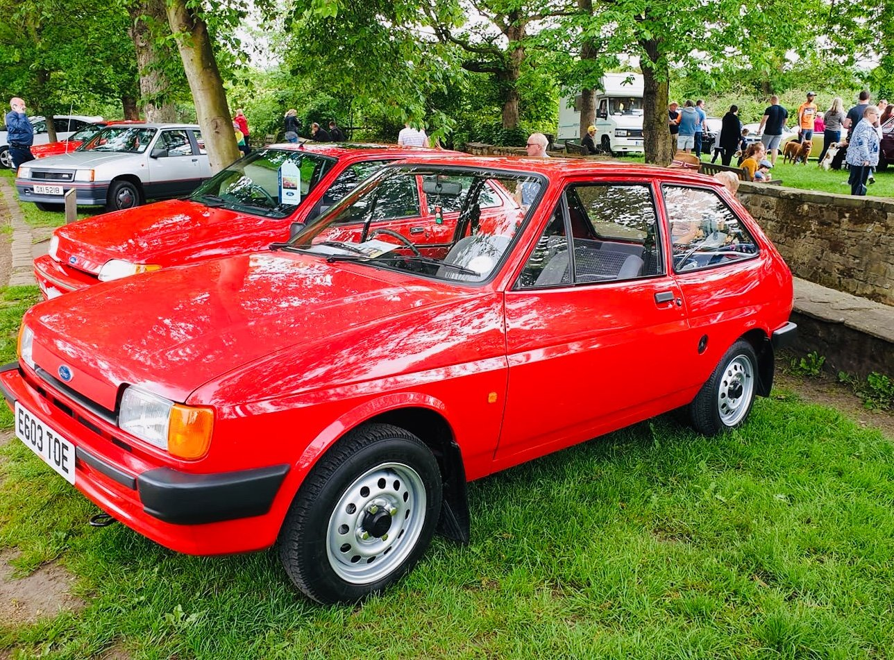 1987 Fiesta mk2 popular low miles show car For Sale (picture 1 of 6)
