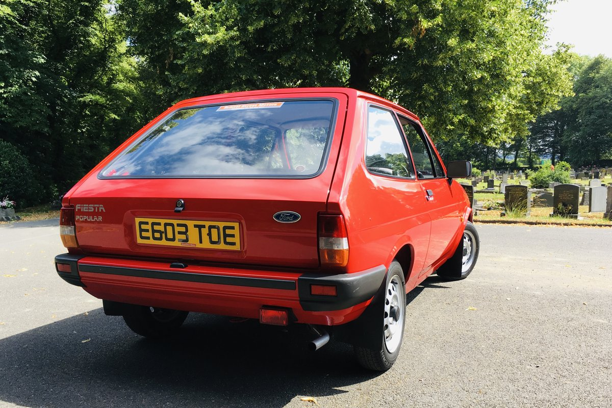 1987 Fiesta mk2 popular low miles show car For Sale (picture 5 of 6)