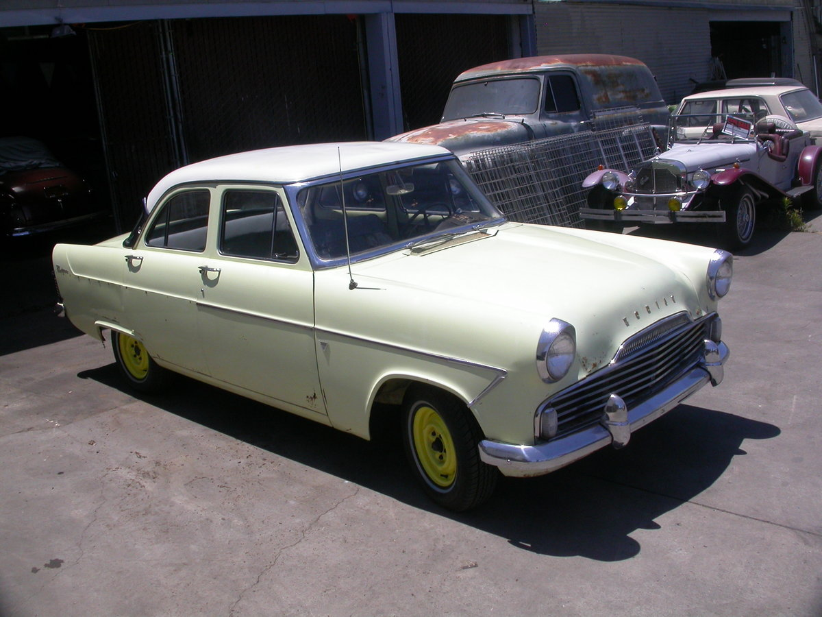 1961 LHD CALIFORNIA FORD ZODIAC $8100 shipping included For Sale (picture 1 of 6)