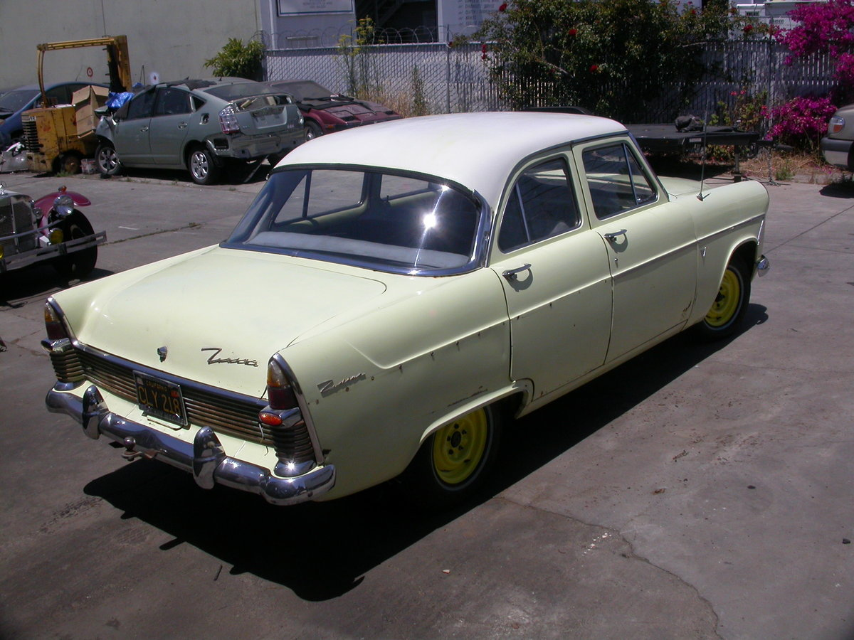 1961 LHD CALIFORNIA FORD ZODIAC $8100 shipping included For Sale (picture 3 of 6)