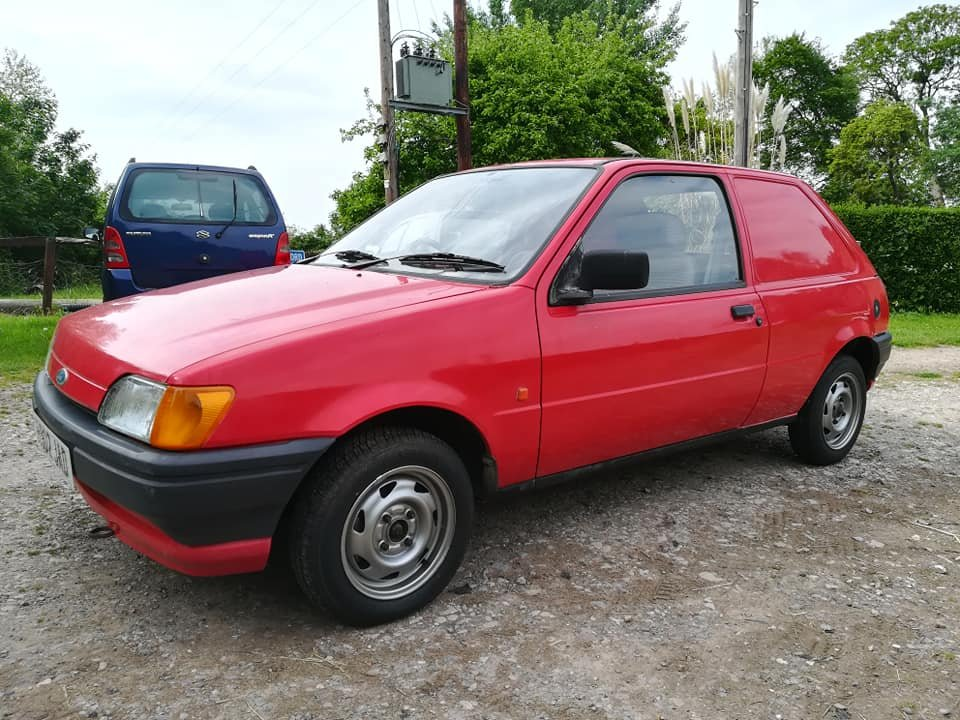 1991 Ford Fiesta Van MK3 Popular For Sale (picture 1 of 6)