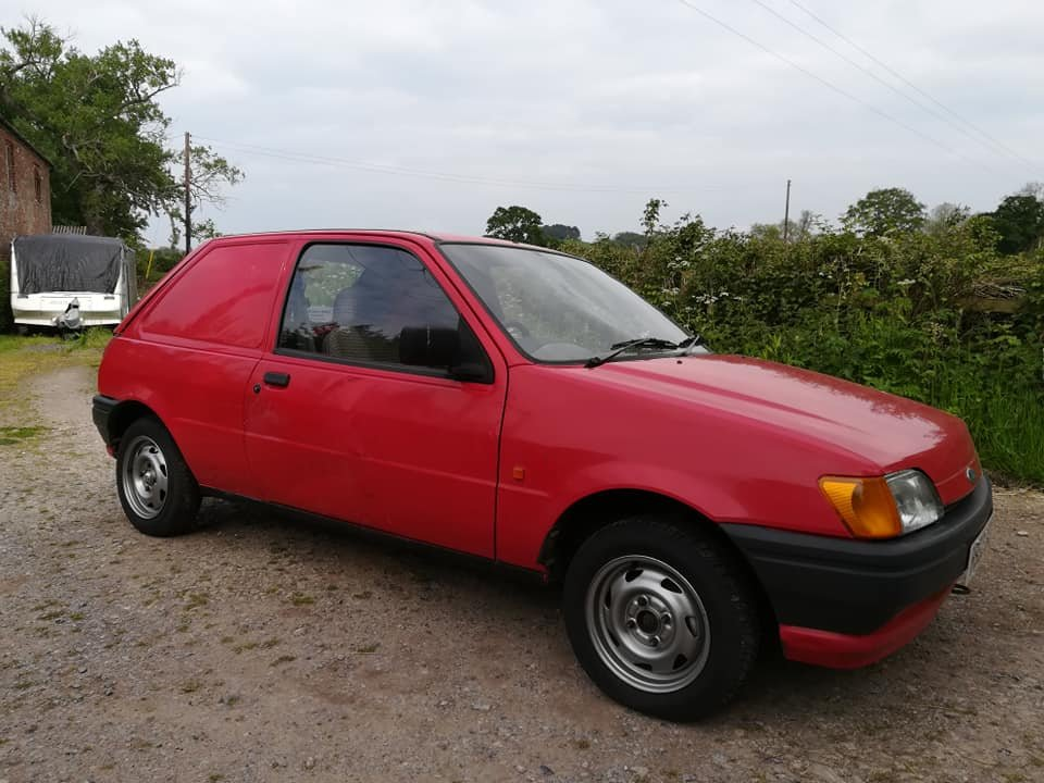 1991 Ford Fiesta Van MK3 Popular For Sale (picture 3 of 6)