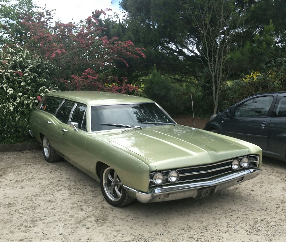 1969 Ford Country Sedan Station Wagon Sold Car And Classic