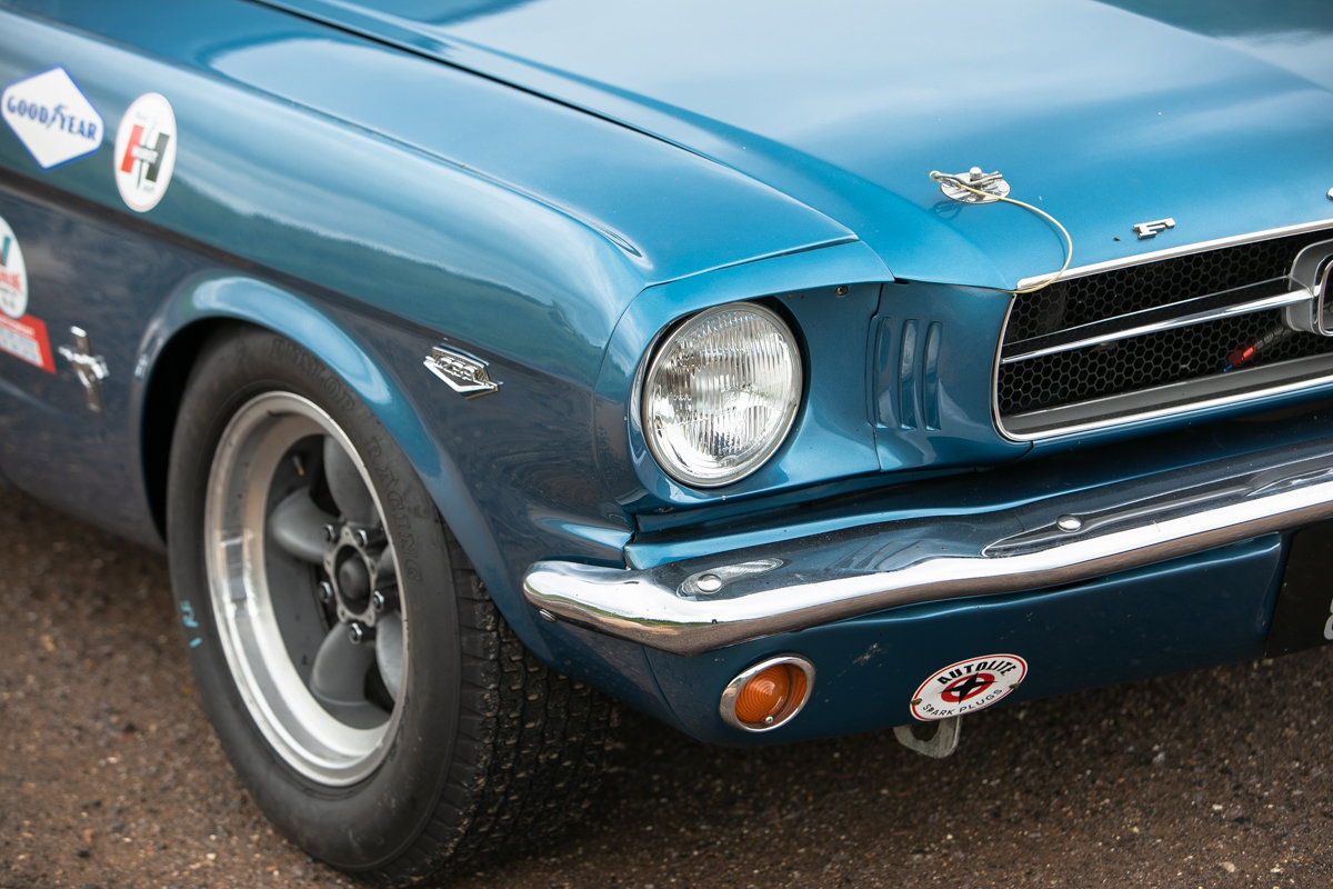 1965 Ford Mustang 289 Notchback race car SOLD by Auction (picture 6 of 6)