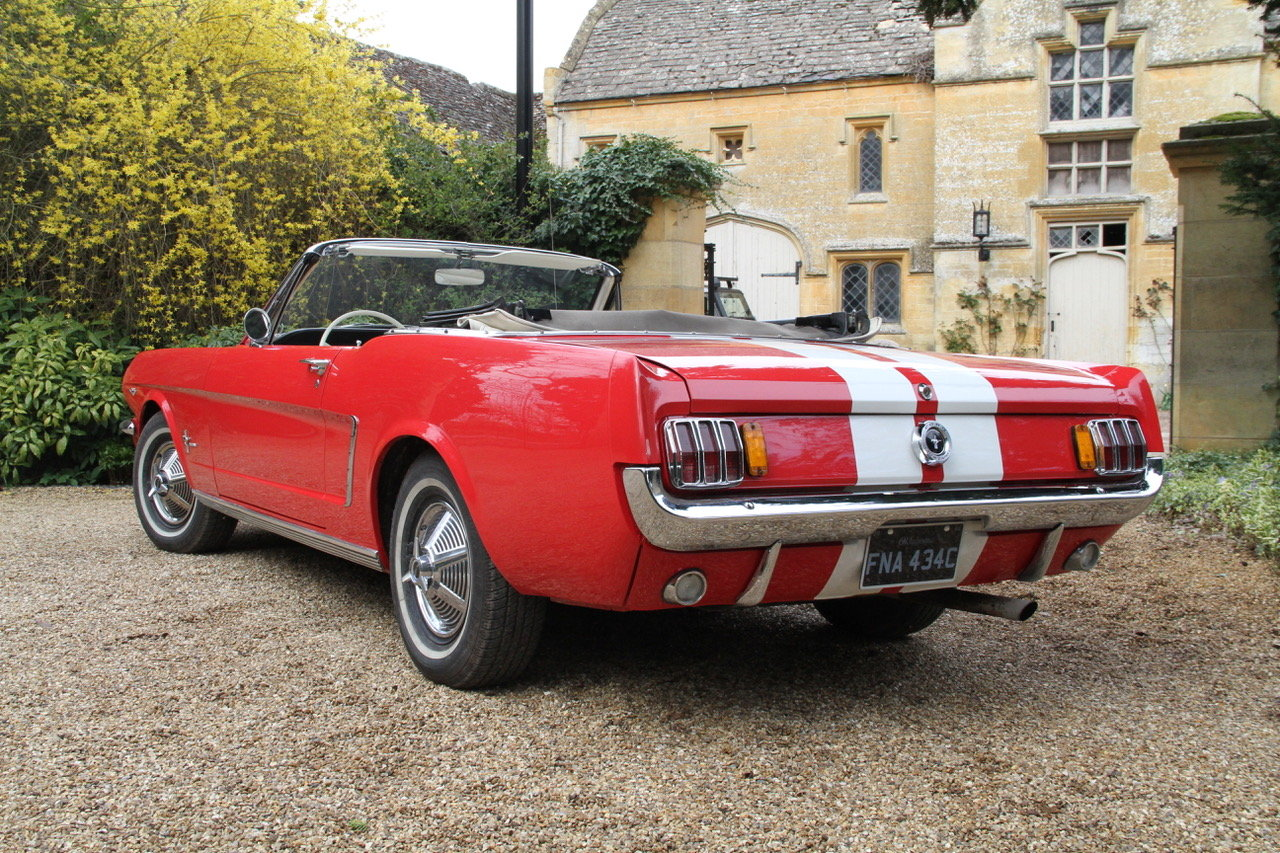 19645 Ford Mustang Convertible SOLD by Auction (picture 3 of 6)