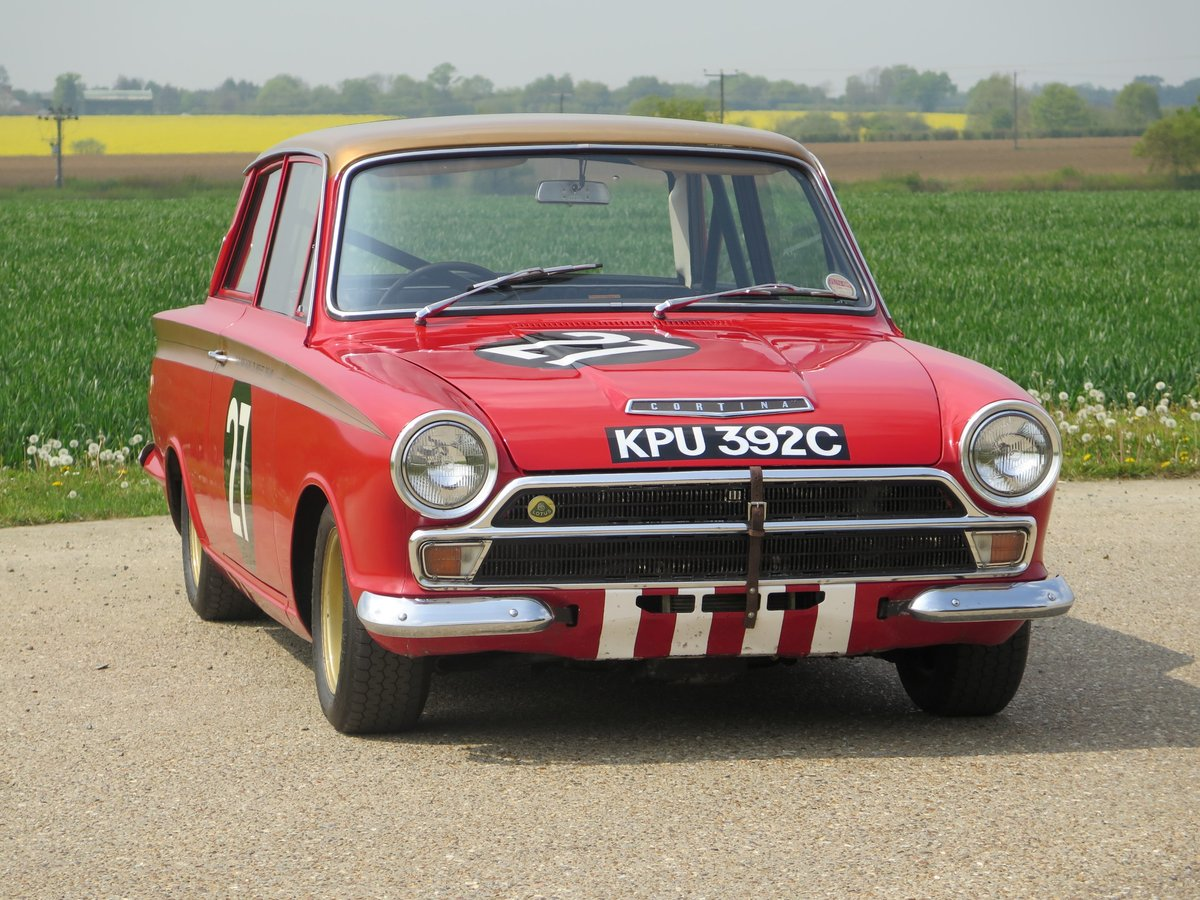 1965 Ford Lotus Cortina - Ex-Sir John Whitmore. SOLD by Auction (picture 1 of 6)