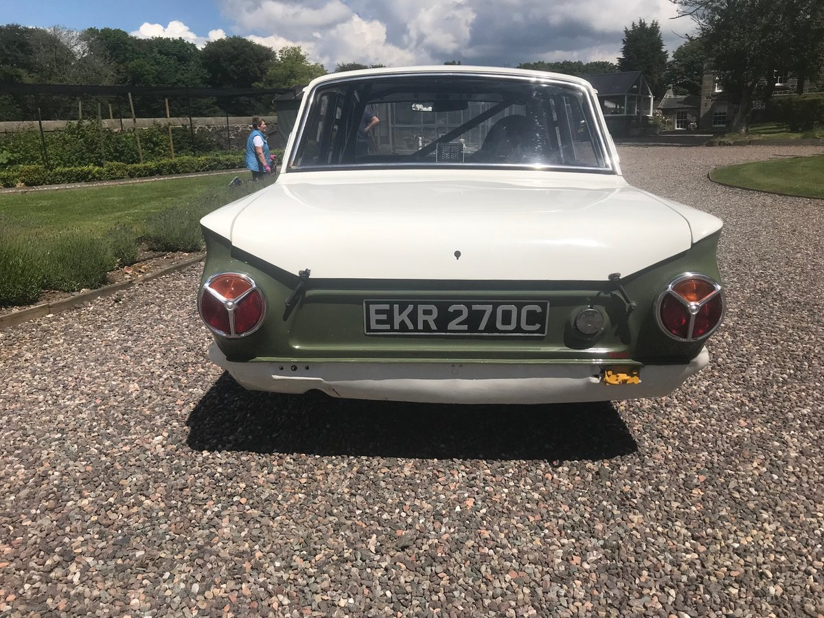 1965 Ford Lotus Cortina SOLD by Auction (picture 1 of 6)