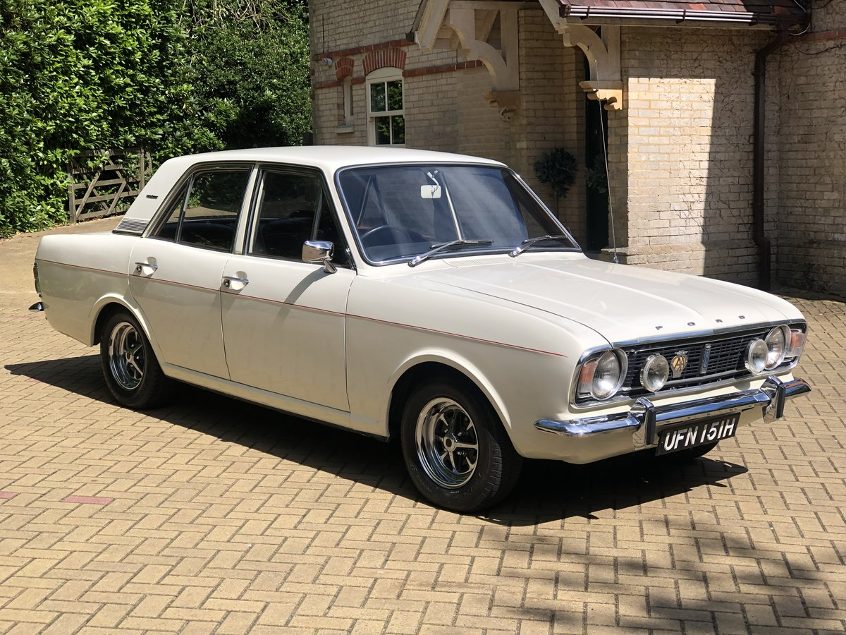 1970 Ford Cortina 1600E Lovely Example For Sale (picture 1 of 6)