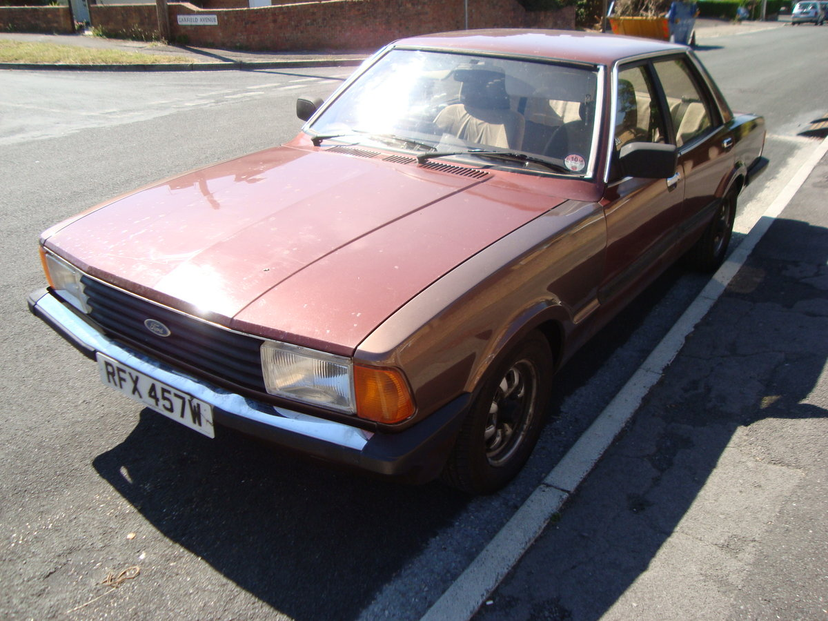 1981 Cortina 2.3GL For Sale (picture 5 of 6)