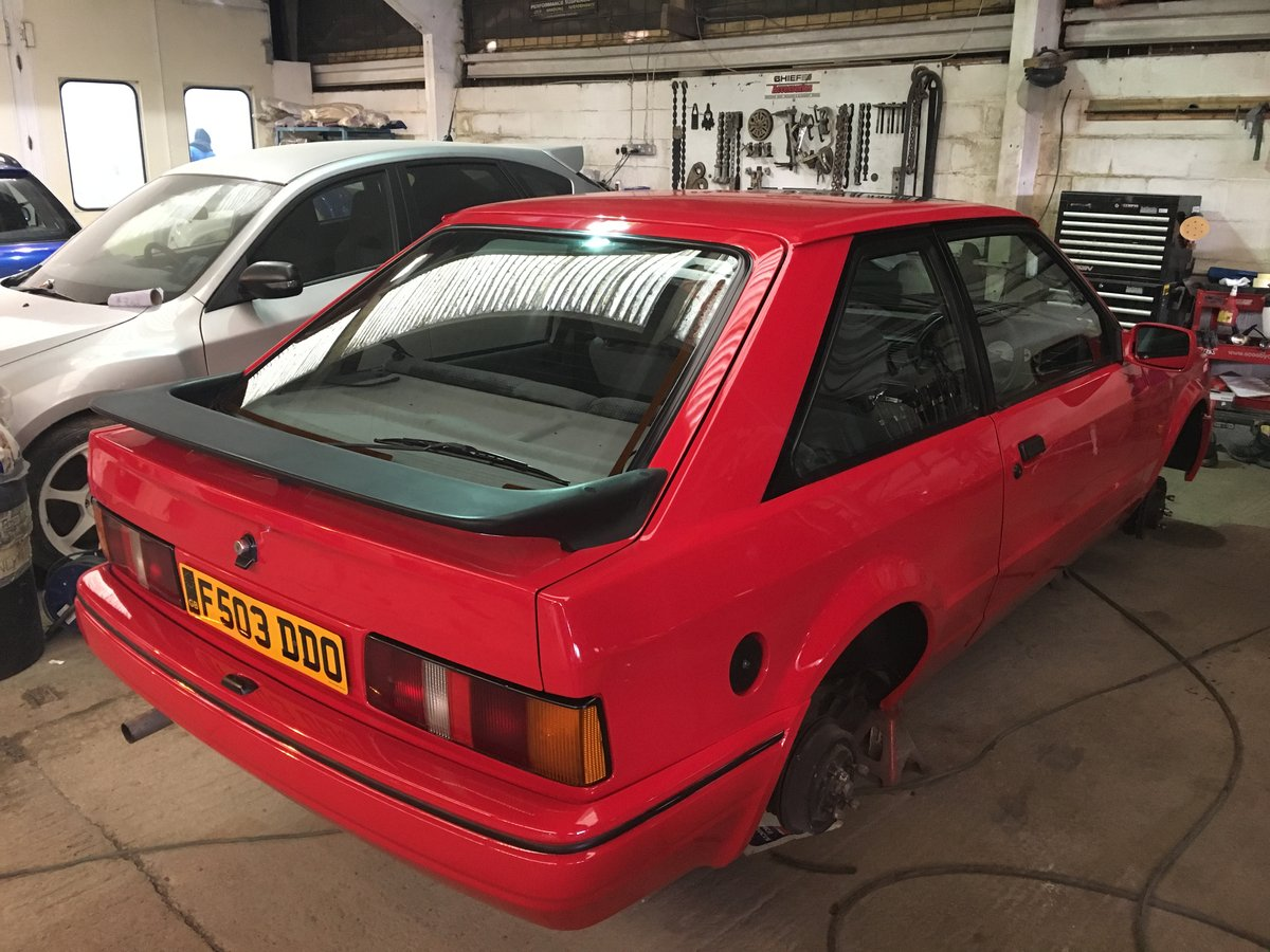 1989 Ford Escort XR3i For Sale (picture 4 of 6)