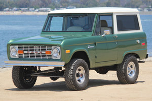 1974 Ford Bronco = Rare Custom Nick Trix Mint Restored $109k