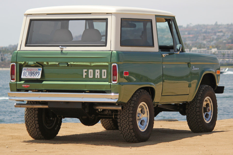1974 Ford Bronco = Rare Custom Nick Trix Mint Restored $109k For Sale (picture 2 of 6)