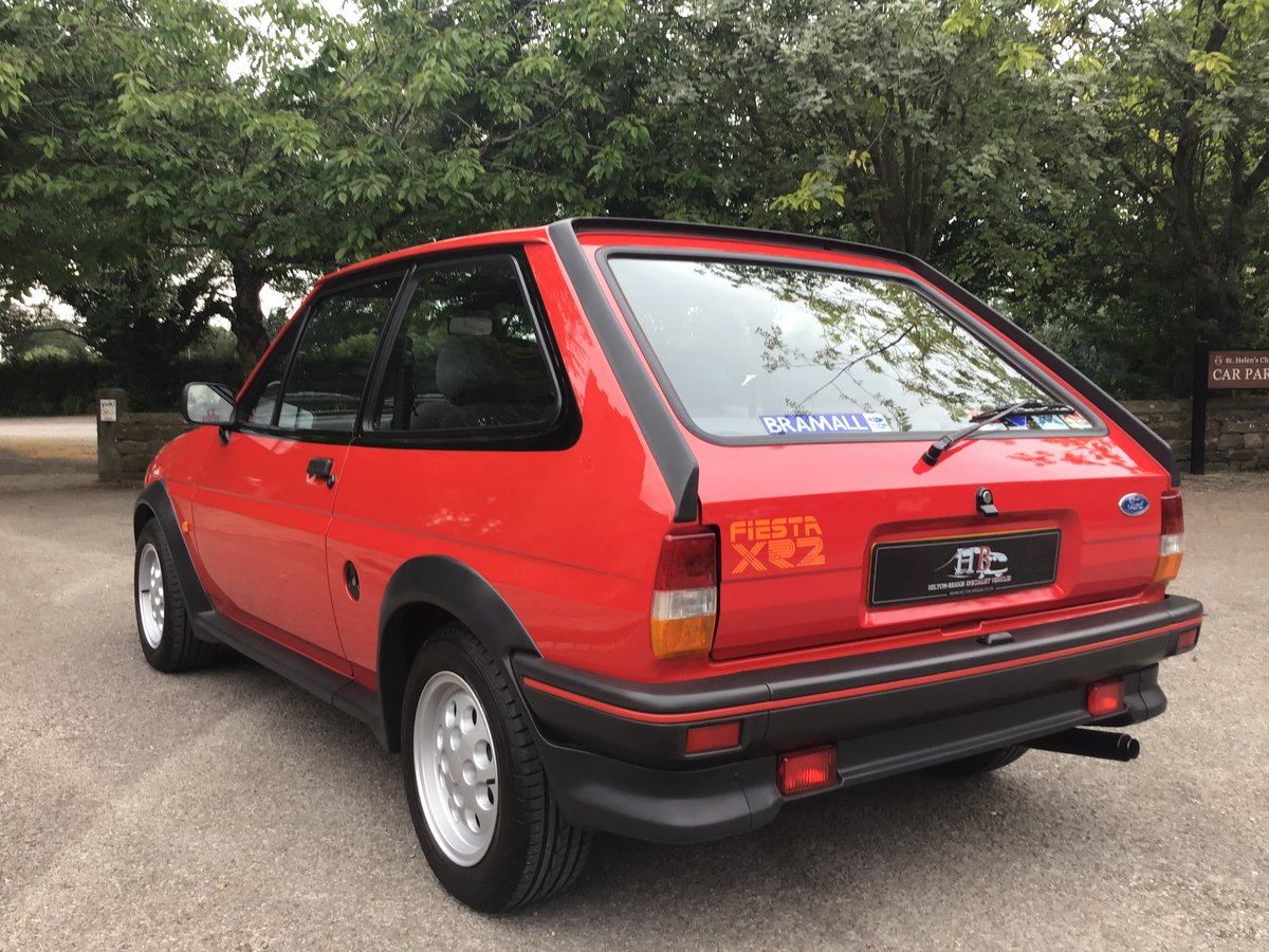1987 FORD FIESTA 1.6. XR2 EXCEPTIONAL AND ORIGINAL COLLECTORS CAR SOLD (picture 2 of 6)