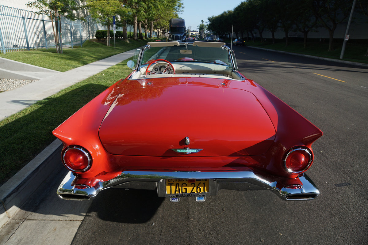 Original California 1957 Ford Thunderbird Convertible SOLD (picture 4 of 6)