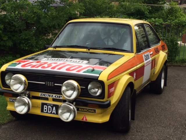 1977 Ford escort rs1800 mk 2 - car is brand new For Sale (picture 1 of 6)