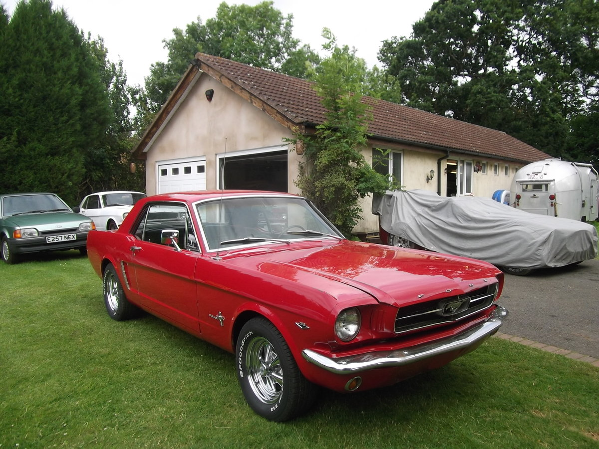 1965 Mustang Coupe 289 v8, Automatic, C Code Car SOLD (picture 1 of 6)