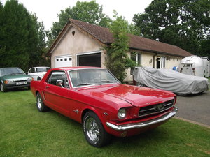 1965 Mustang Coupe 289 v8, Automatic, C Code Car SOLD