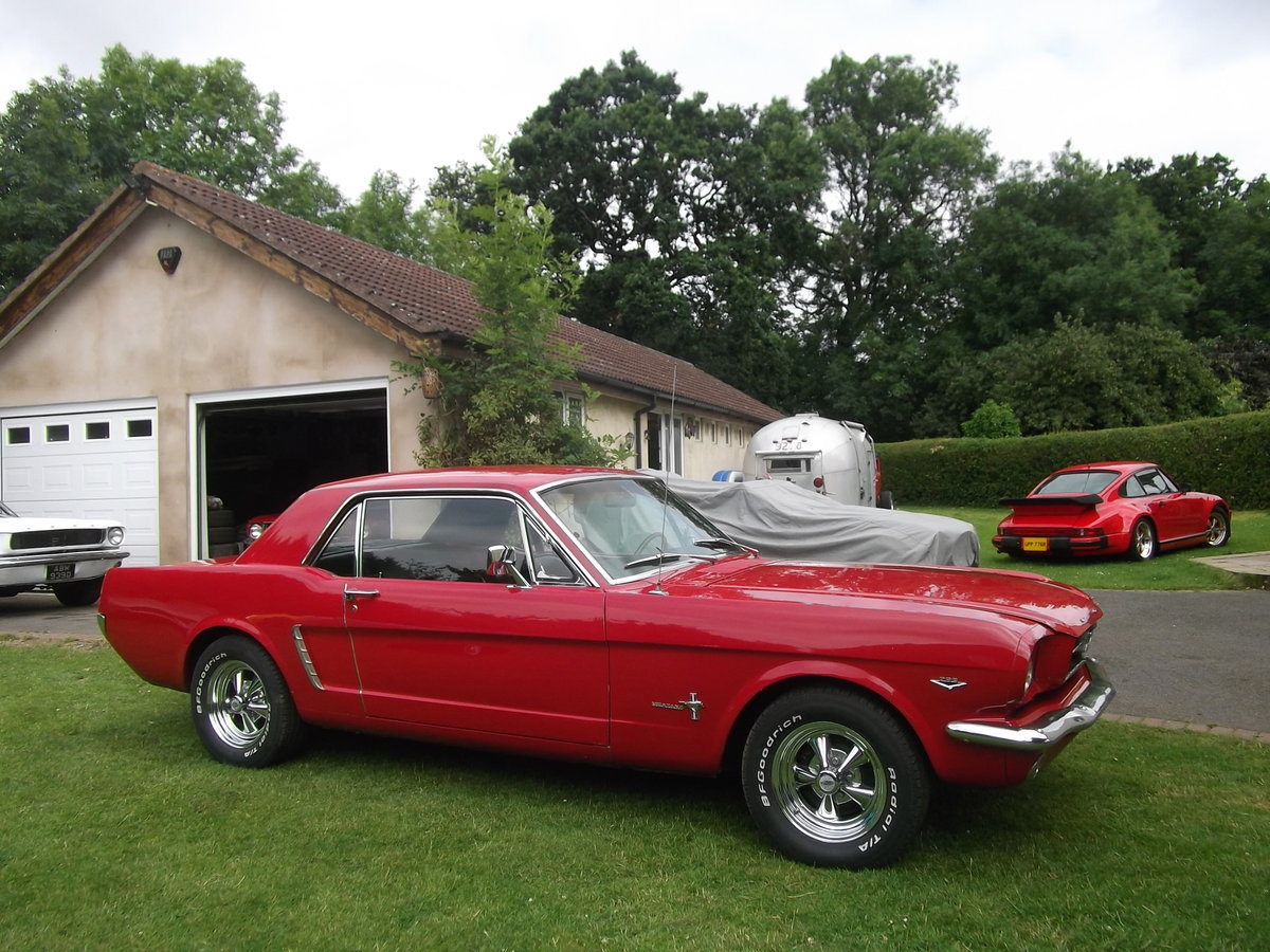 1965 Mustang Coupe 289 v8, Automatic, C Code Car SOLD (picture 2 of 6)