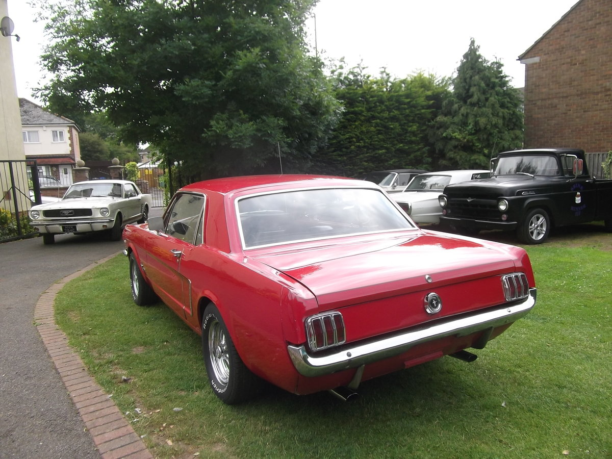 1965 Mustang Coupe 289 v8, Automatic, C Code Car SOLD (picture 3 of 6)