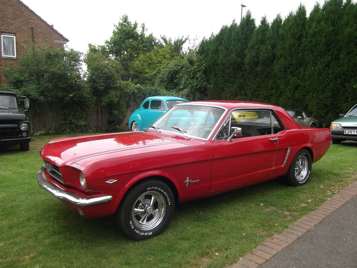 1965 Mustang Coupe 289 v8, Automatic, C Code Car SOLD (picture 4 of 6)