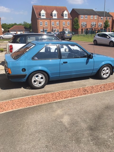 1982 Ford Escort MK3 1100 L 'E' 2 Door (PX taken ) For Sale (picture 2 of 6)
