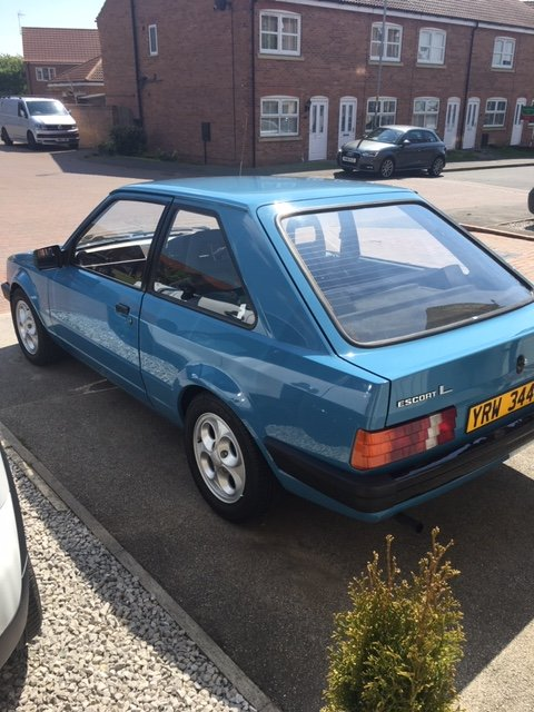 1982 Ford Escort MK3 1100 L 'E' 2 Door (PX taken ) For Sale (picture 3 of 6)