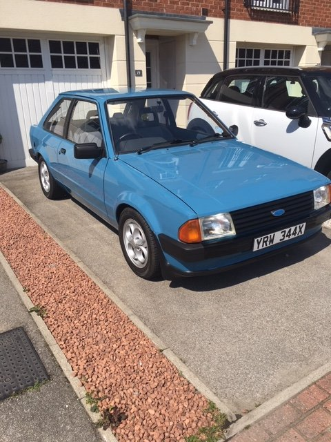 1982 Ford Escort MK3 1100 L 'E' 2 Door (PX taken ) For Sale (picture 4 of 6)