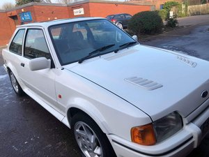 1989 Ford escort rs turbo low mileage For Sale