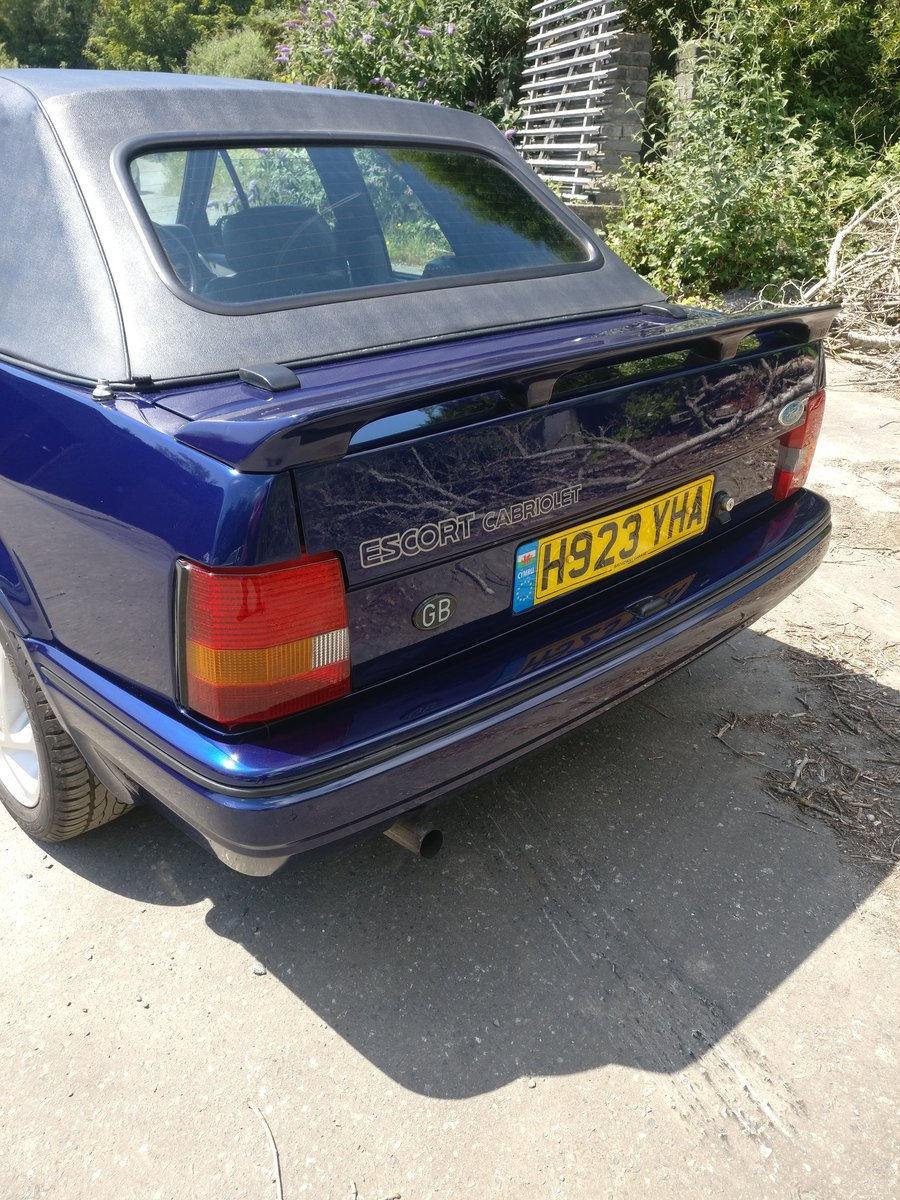 1990 Ford escort XR3i se500 open to offers For Sale (picture 2 of 6)