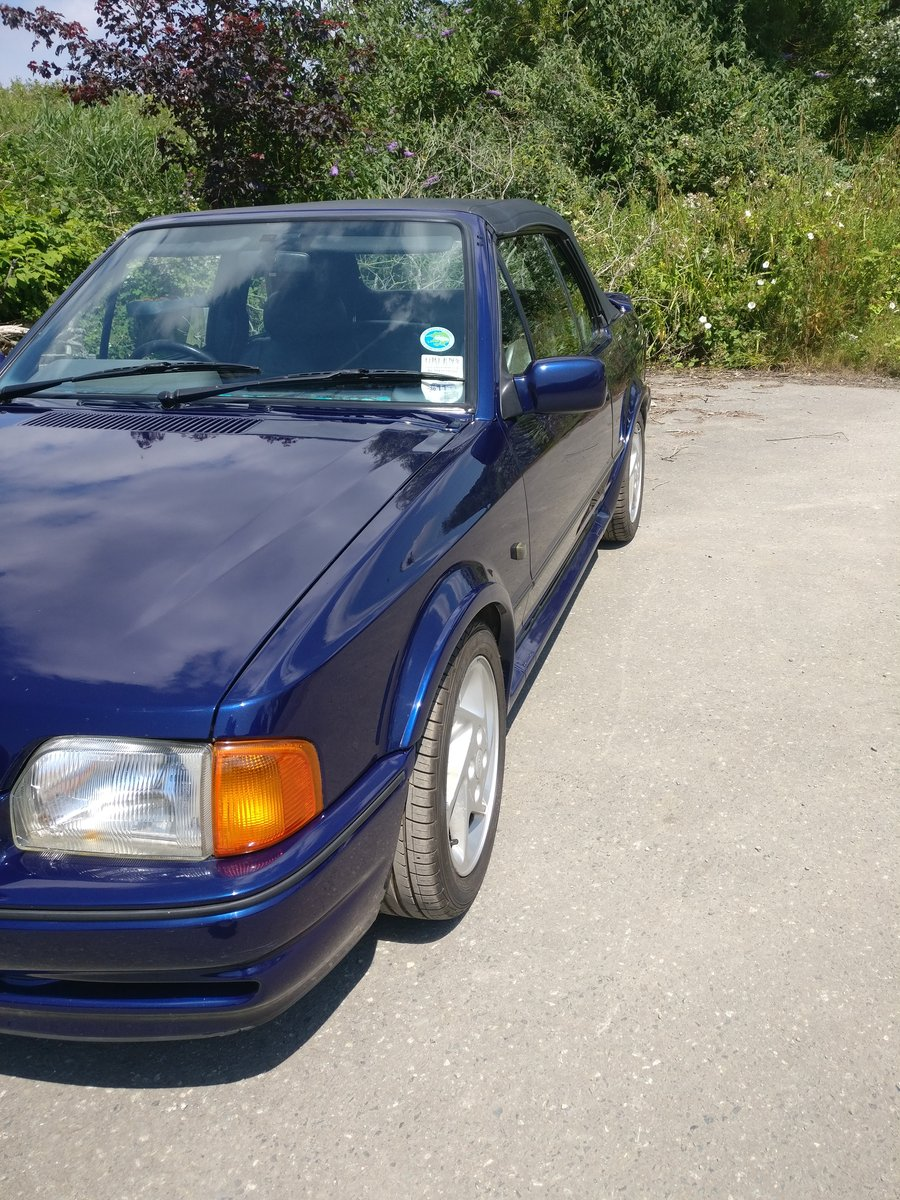 1990 Ford escort XR3i se500 open to offers For Sale (picture 3 of 6)