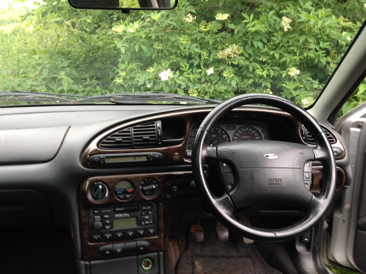 1999 Mondeo mk2 2.5 V6 Ghia X Estate renovation project For Sale (picture 6 of 6)