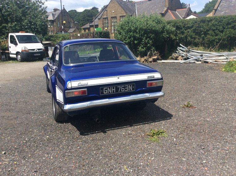1975 Ford escort Mk1 RS2000 mk1 escort RS 2000  may px For Sale (picture 4 of 6)