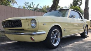 1966 Ford Mustang Coupe- recent rebuild