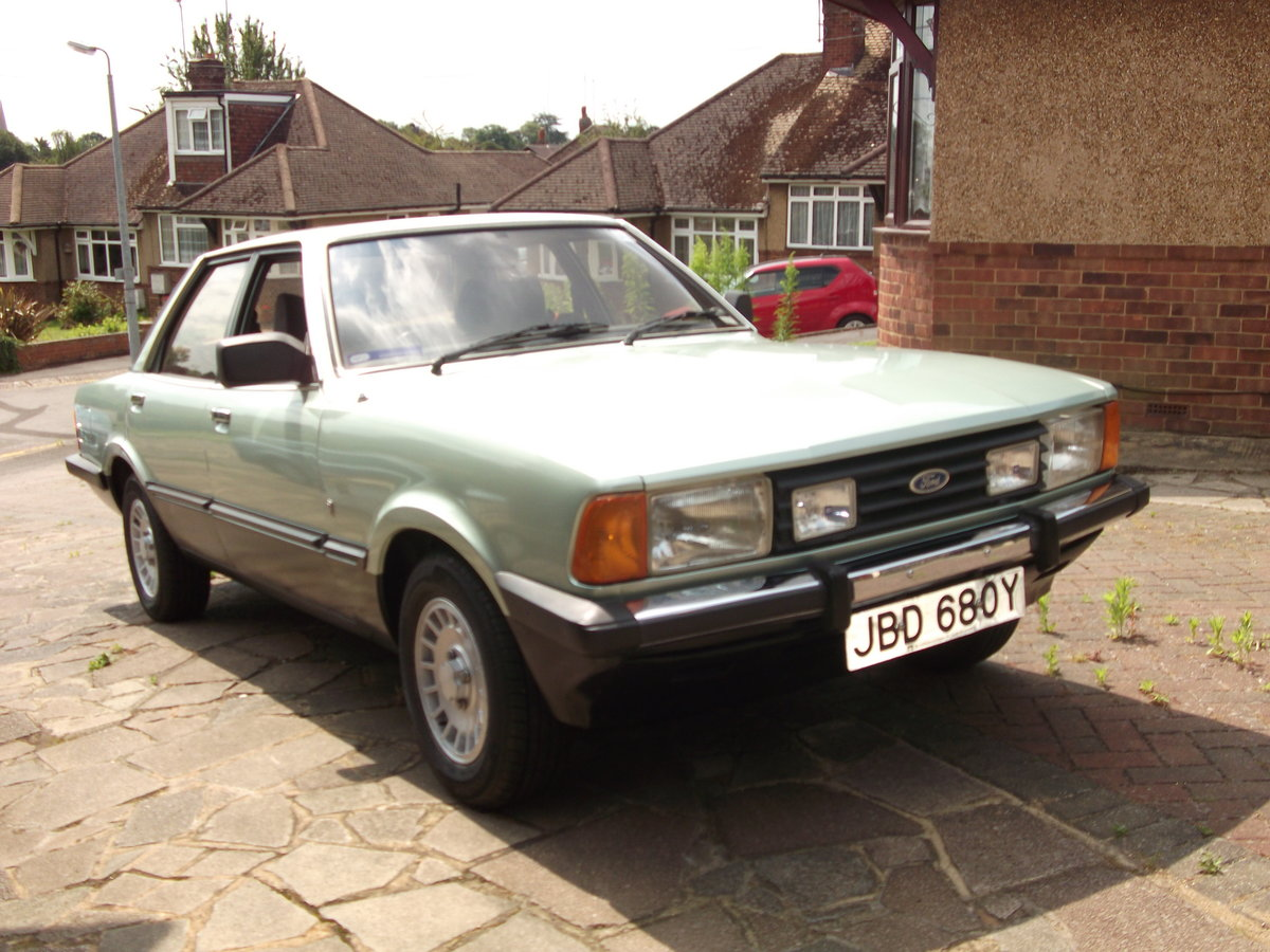 1982 Ford Cortina Ghia MKV For Sale (picture 1 of 6)