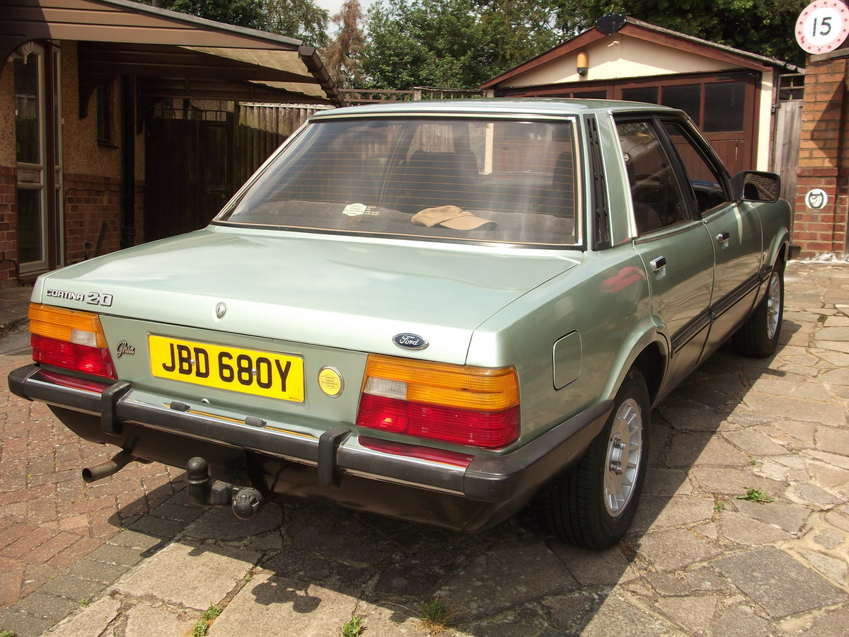 1982 Ford Cortina Ghia MKV For Sale (picture 4 of 6)
