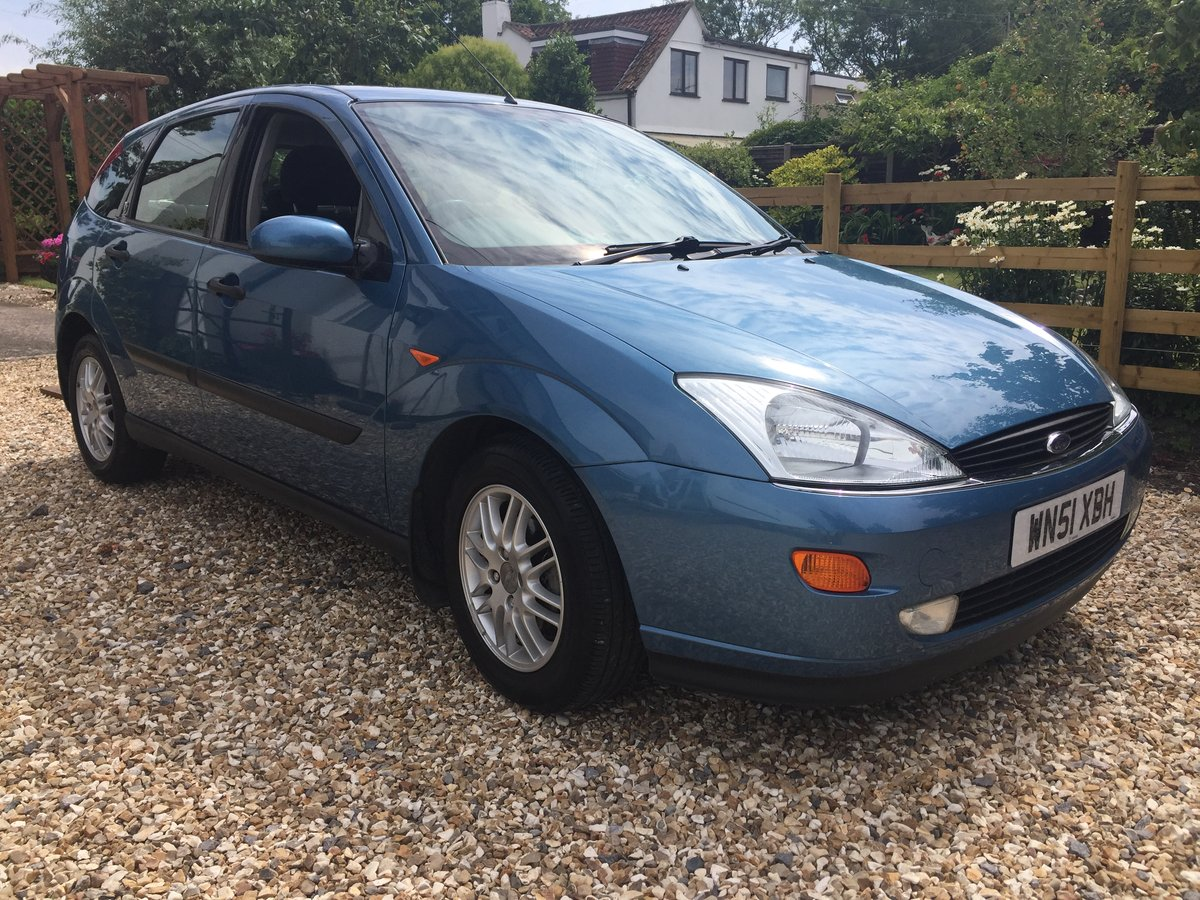 2001 Focus I owner 44K 18 stamps in the Book PRISTINE! For Sale (picture 2 of 6)