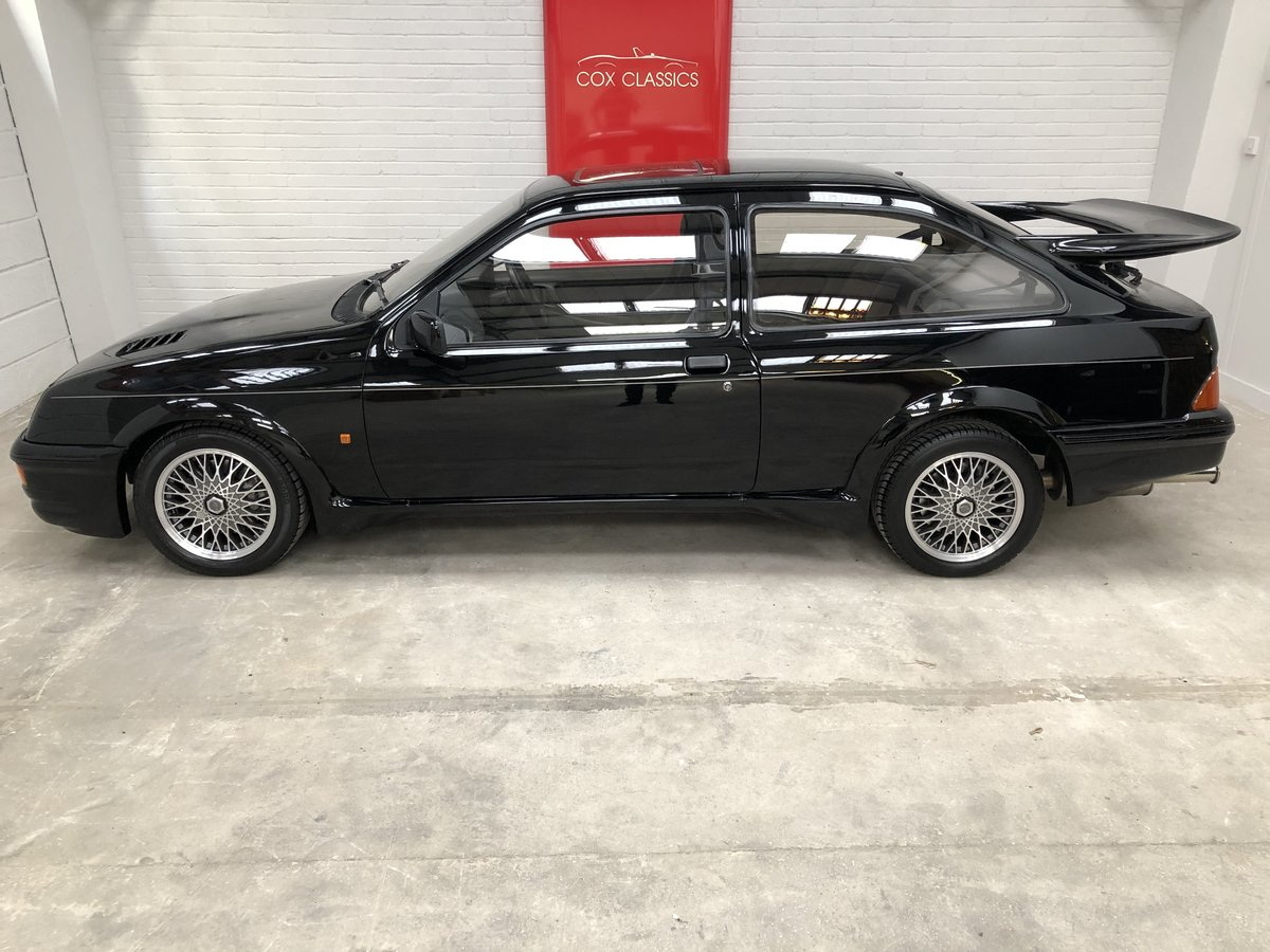 1986 Stunning Ford Sierra RS Cosworth 3dr Black For Sale (picture 2 of 6)