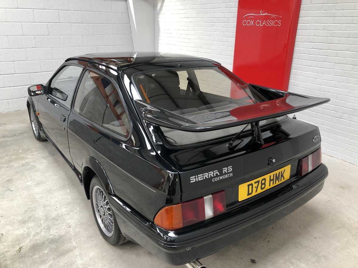 1986 Stunning Ford Sierra RS Cosworth 3dr Black For Sale (picture 3 of 6)
