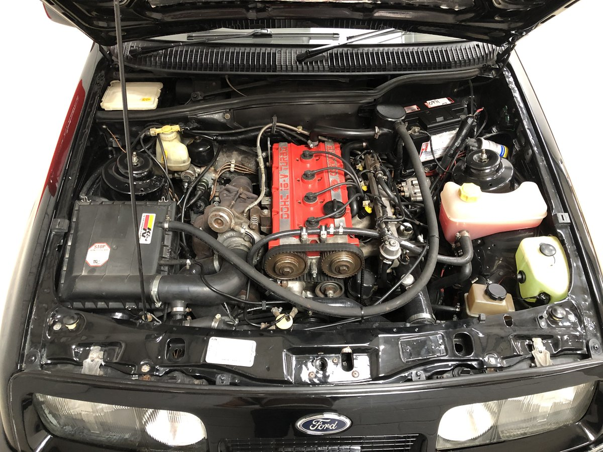 1986 Stunning Ford Sierra RS Cosworth 3dr Black For Sale (picture 4 of 6)