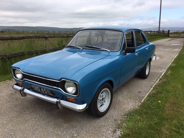1972 Mk1 ford escort 1.1 lhd full restoration For Sale (picture 1 of 6)