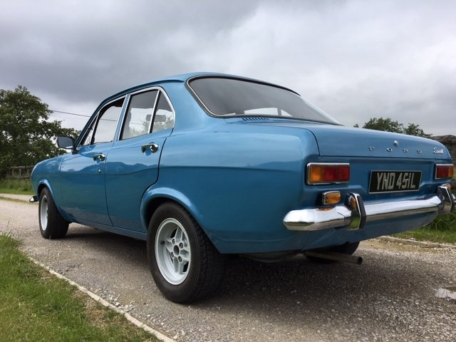 1972 Mk1 ford escort 1.1 lhd full restoration For Sale (picture 2 of 6)