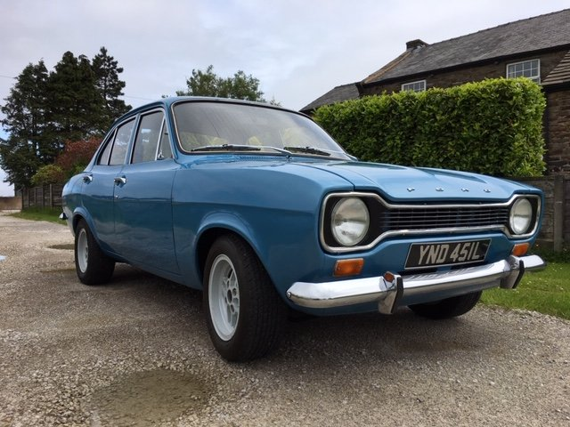 1972 Mk1 ford escort 1.1 lhd full restoration For Sale (picture 3 of 6)