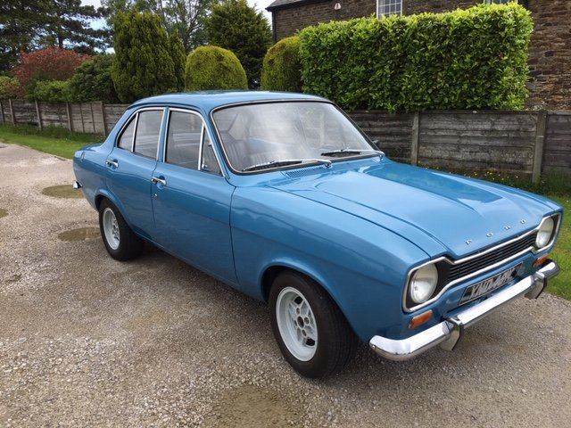 1972 Mk1 ford escort 1.1 lhd full restoration For Sale (picture 6 of 6)