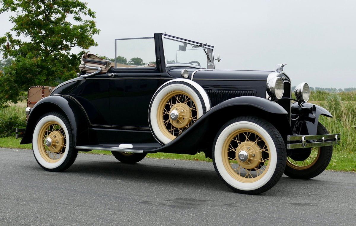 Ford Model A Convertible 68C 1931 For Sale (picture 1 of 6)