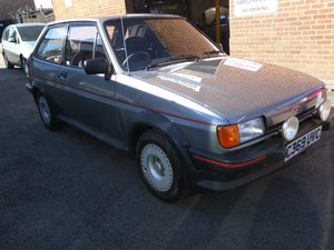 1985 Ford Fiesta XR2 - 1 registered owner & 13,455 miles  For Sale by Auction