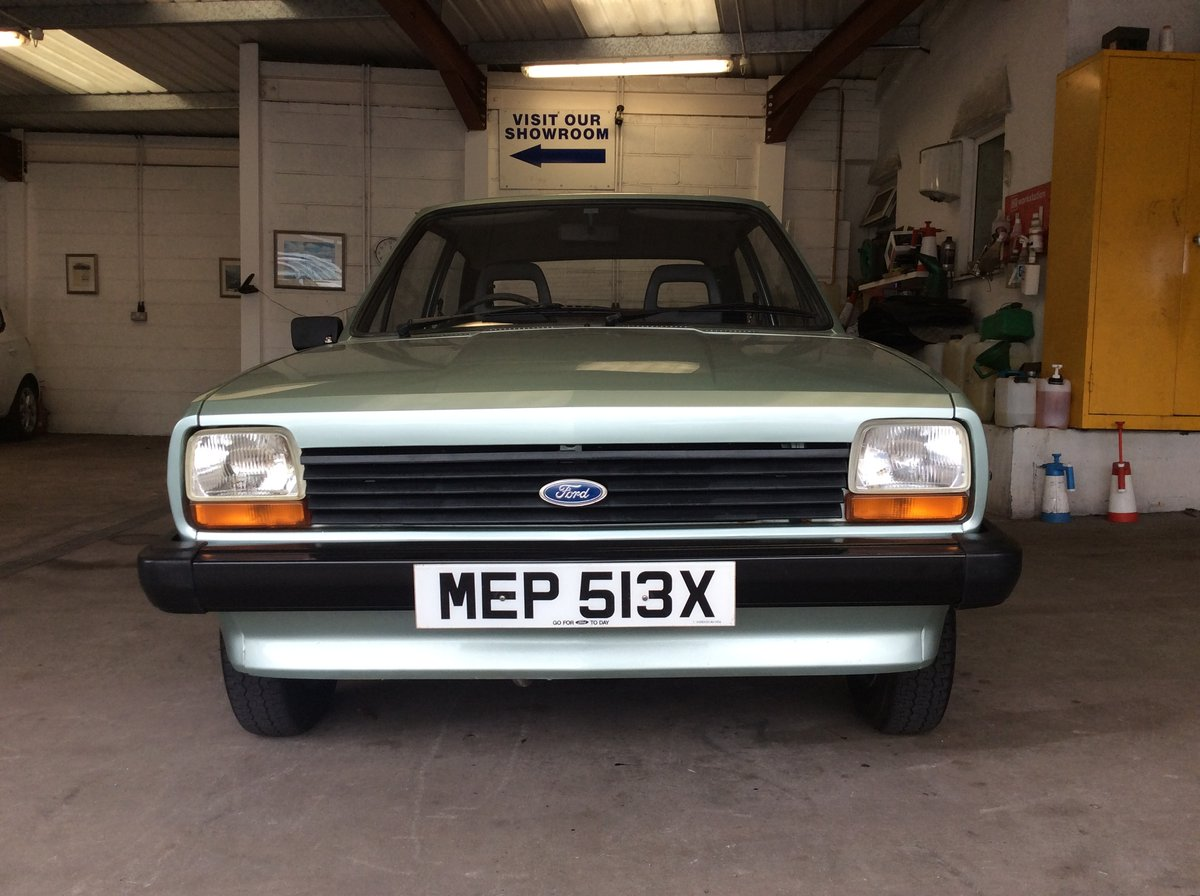 1982 Ford Fiesta 1.1 L SOLD (picture 1 of 6)