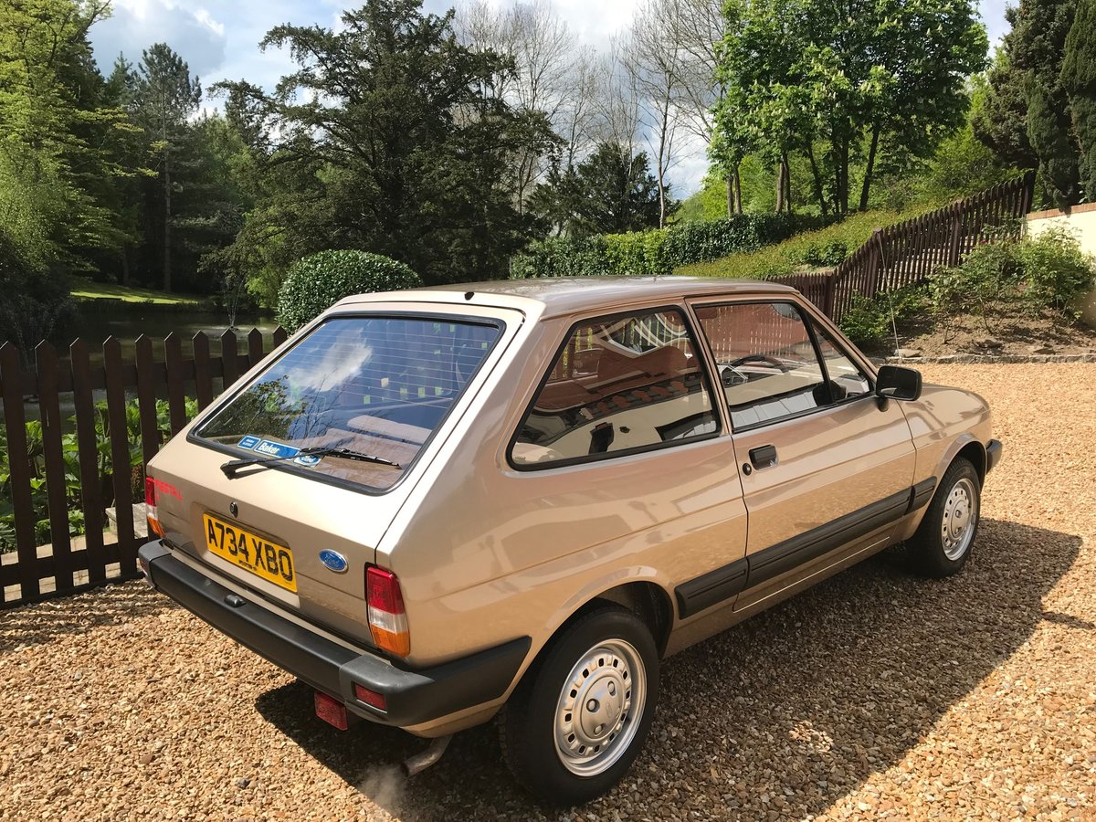 1984 Ford fiesta mk2 1.1L Time warp  For Sale (picture 1 of 6)