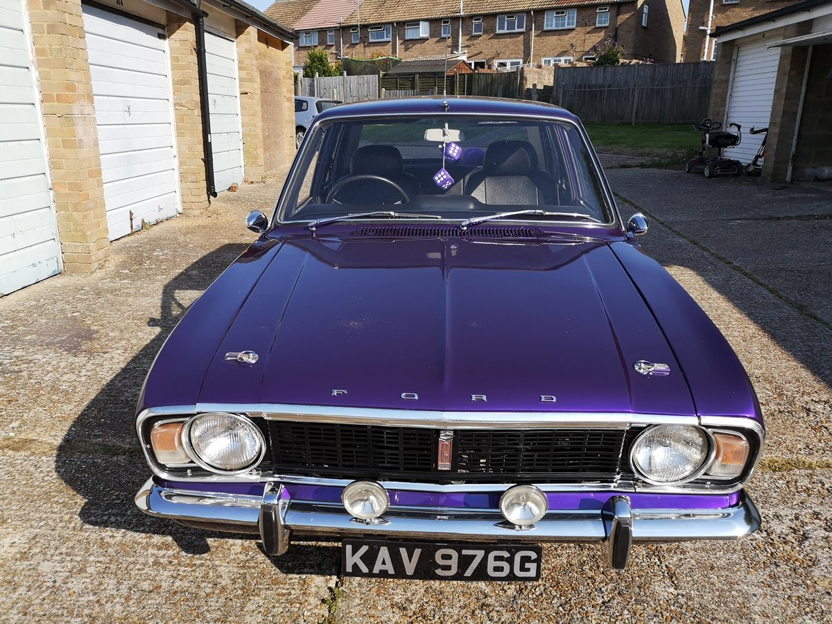 1968 Ford Cortina 1600 super SOLD (picture 1 of 6)