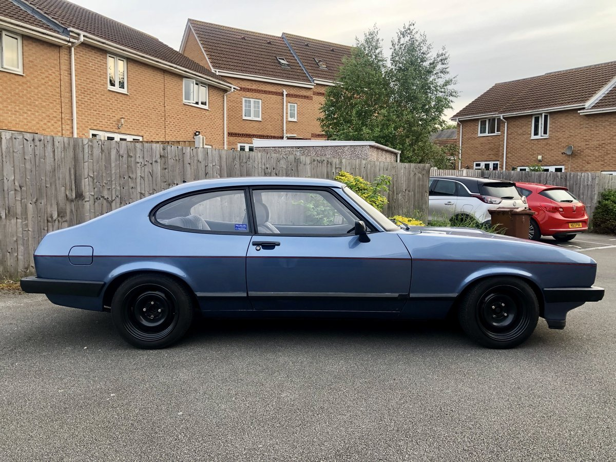 1984 Ford Capri mk3 2.1 LS For Sale (picture 2 of 6)